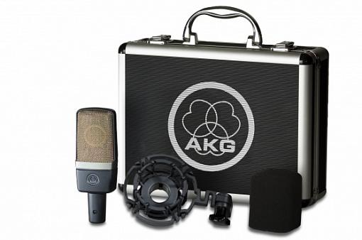 Конденсаторный микрофон AKG C214